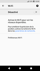 Sony Xperia X Compact - Android Oreo - Wifi - configuration manuelle - Étape 5