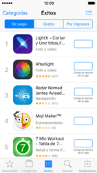 Apple iPhone SE iOS 10 - Aplicaciones - Tienda de aplicaciones - Paso 4