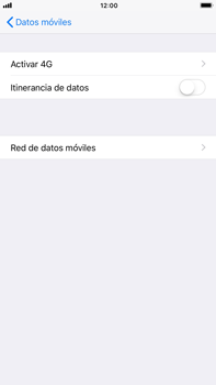 Apple iPhone 7 Plus iOS 11 - Internet - Configurar Internet - Paso 6
