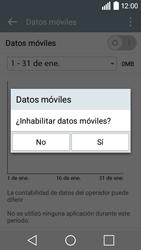 LG Leon - Internet - Activar o desactivar la conexión de datos - Paso 6
