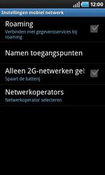 Samsung I9000 Galaxy S - Bellen - in het buitenland - Stap 6