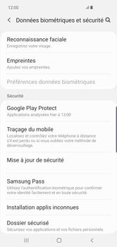 Samsung Galaxy S10 Plus - Appareil - configurer Localiser mon appareil - Étape 5