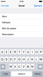 Apple iPhone 5c iOS 8 - E-mail - Configuration manuelle (gmail) - Étape 8