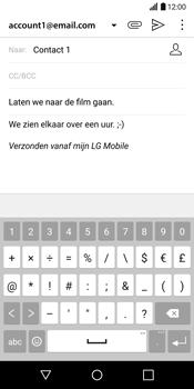 LG G6 (LG-H870) - E-mail - Hoe te versturen - Stap 11