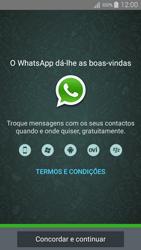 Samsung Galaxy A5 - Aplicações - Como configurar o WhatsApp -  5