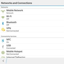 BlackBerry Passport - WiFi and Bluetooth - Setup Bluetooth Pairing - Step 5