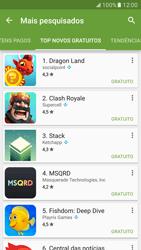 Samsung Galaxy S7 - Aplicativos - Como baixar aplicativos - Etapa 11