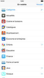 Apple iPhone 6 Plus iOS 8 - Applications - Télécharger une application - Étape 5