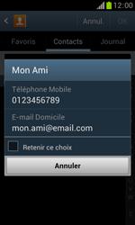 Samsung Galaxy Trend - Contact, Appels, SMS/MMS - Envoyer un SMS - Étape 7