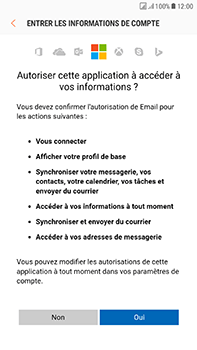 Samsung J730F Galaxy J7 (2017) (DualSIM) - E-mail - Configurer l
