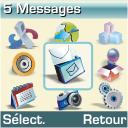 Samsung M110 - SMS - Configuration manuelle - Étape 3