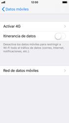 Apple iPhone 5s - iOS 11 - Mensajería - Configurar el equipo para mensajes multimedia - Paso 9