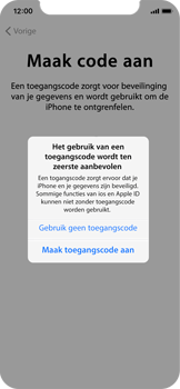 Apple iPhone X - Toestel - Toestel activeren - Stap 14