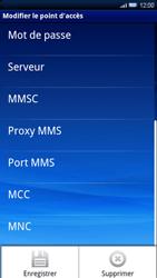 Sony Ericsson Xperia X10 - MMS - configuration manuelle - Étape 12