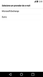 LG X Power - Email - Como configurar seu celular para receber e enviar e-mails - Etapa 5