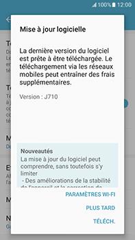 Samsung Galaxy J7 (2016) (J710) - Réseau - Installation de mises à jour - Étape 7