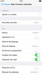 Apple iPhone 6 Plus - E-mail - Configuration manuelle - Étape 5