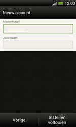 HTC T320e One V - E-mail - Handmatig instellen - Stap 16