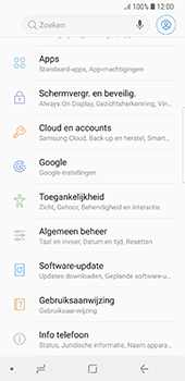 Samsung Galaxy S8 - Android Oreo - Toestel - Software update - Stap 5