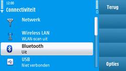 Nokia N97 - Bluetooth - Headset, carkit verbinding - Stap 5