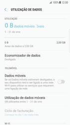 Samsung Galaxy S7 Edge - Android Nougat - Internet no telemóvel - Como ativar os dados móveis -  6