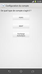 Sony D5503 Xperia Z1 Compact - E-mail - Configurer l