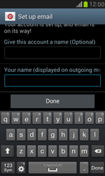 Samsung I8190 Galaxy S III Mini - E-mail - Manual configuration (yahoo) - Step 10