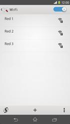 Sony Xperia M2 - WiFi - Conectarse a una red WiFi - Paso 6