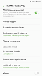 Samsung G920F Galaxy S6 - Android Nougat - Messagerie vocale - Configuration manuelle - Étape 6