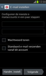 Samsung I8190 Galaxy S III Mini - E-mail - Account instellen (IMAP zonder SMTP-verificatie) - Stap 6