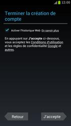 Samsung I9300 Galaxy S III - Applications - Créer un compte - Étape 10