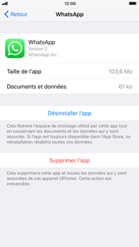 Apple iPhone 6 Plus - iOS 11 - Applications - Supprimer une application - Étape 6