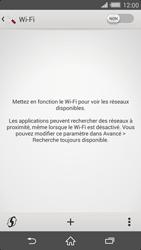 Sony Xperia Z2 - Internet et connexion - Accéder au réseau Wi-Fi - Étape 5