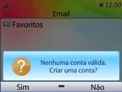 Huawei U6020 - Email - Como configurar seu celular para receber e enviar e-mails - Etapa 5