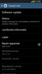 Samsung C105 Galaxy S IV Zoom LTE - Software update - update installeren zonder PC - Stap 6