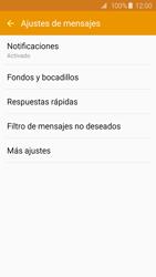 Samsung Galaxy S6 - Mensajería - Configurar el equipo para mensajes de texto - Paso 6