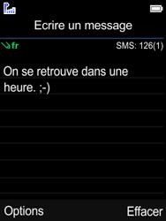 Mobiwire Leyti - Contact, Appels, SMS/MMS - Envoyer un SMS - Étape 7