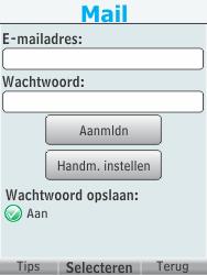 Nokia 301-1 - E-mail - handmatig instellen - Stap 7