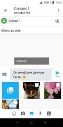 Alcatel 1X - Contact, Appels, SMS/MMS - Envoyer un MMS - Étape 14