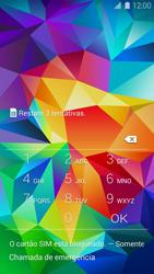 Samsung G900F Galaxy S5 - Funções básicas - Como reiniciar o aparelho - Etapa 6