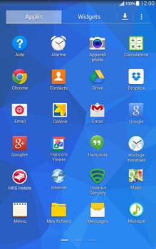 Samsung T335 Galaxy Tab 4 8-0 - E-mail - Configuration manuelle - Étape 3