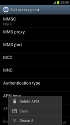 Samsung I9300 Galaxy S III - Internet - Manual configuration - Step 14