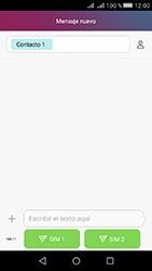 Huawei Y5 II - Mensajería - Escribir y enviar un mensaje multimedia - Paso 8
