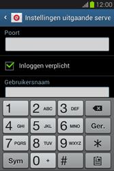 Samsung S6810P Galaxy Fame - E-mail - e-mail instellen: IMAP (aanbevolen) - Stap 15