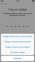 Apple iPhone 6 iOS 10 - Primeros pasos - Activar el equipo - Paso 14