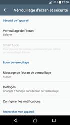 Sony Xperia XA1 - Sécuriser votre mobile - Activer le code de verrouillage - Étape 5