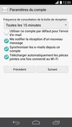 Huawei Ascend P6 LTE - E-mail - Configuration manuelle - Étape 19
