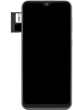 Samsung Galaxy A20e - Device - Insert SIM card - Step 7