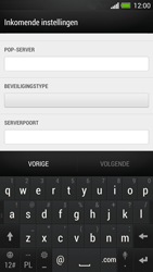 HTC One - E-mail - Account instellen (POP3 zonder SMTP-verificatie) - Stap 10