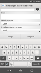 Sony Xperia E4g (E2003) - E-mail - Account instellen (POP3 zonder SMTP-verificatie) - Stap 9